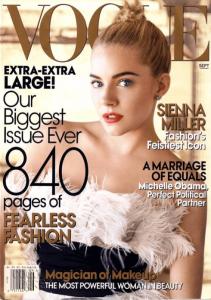 Sienna Miller on Vogue (2007 September Issue)