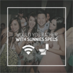 Sunnies Specs Launch: Would You Rather Slow Internet or Use A Public Restroom For The Rest Of Your Life