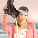 Have you ever been guilty of wearing boots to the beach, all in the name of fashion?