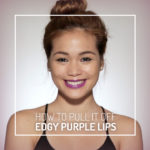 Here's How To Pull Off Edgy Purple Lips