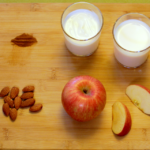 This apple pie drink is a tasty meal replacement for smoothie-lovers out there
