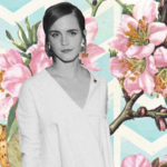 Emma Watson Goes Green During the Beauty and the Beast Press Tour