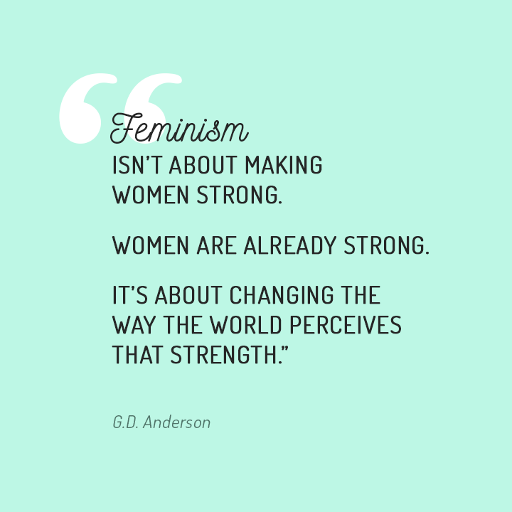 233 Feminism Quotes by QuoteSurf