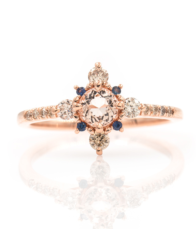 weddmagz simple ring audry pin cool most com rose engagement rings and popular s