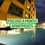 50,000 Peso A Month Apartments