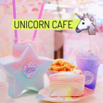 A Unicorn Cafe Exists!