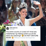 These #MissUniverse Tweets Won The Night